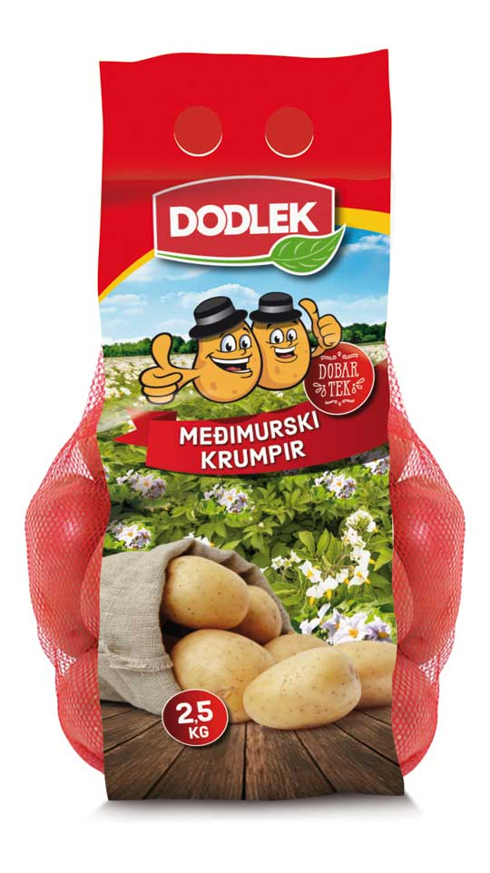 White or red potatoes – 2.5 kg